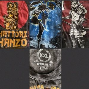 Tee Public graphic shirts Bundle of 3